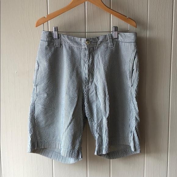 Shorts Mens Green Seersucker Poshmark
